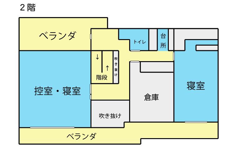 家族葬施設 見取図2階