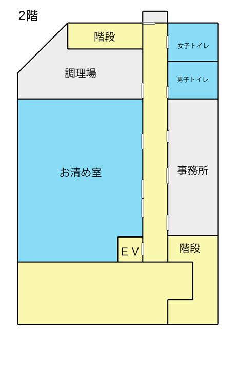 つくば市民斎場 見取図2階