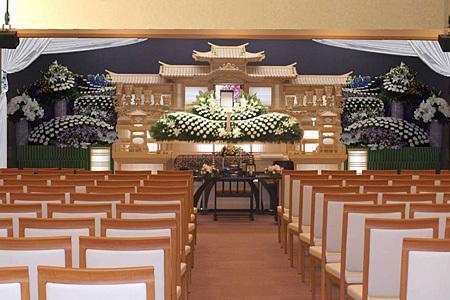 各宗教対応 葬儀式場