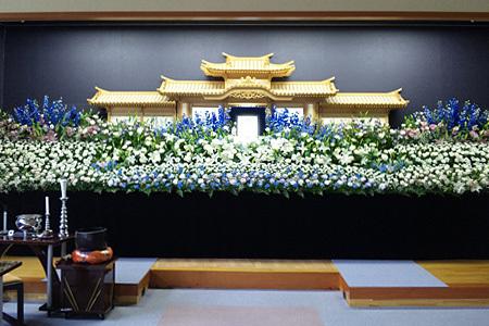葬儀式場 花祭壇例