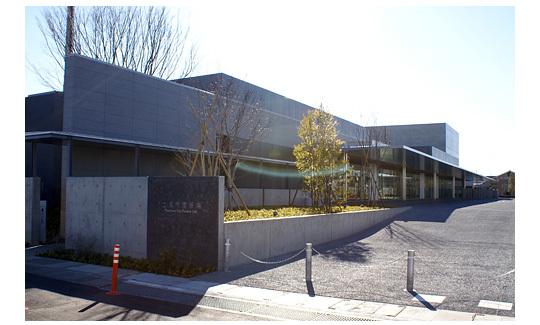 土浦市営斎場の外観